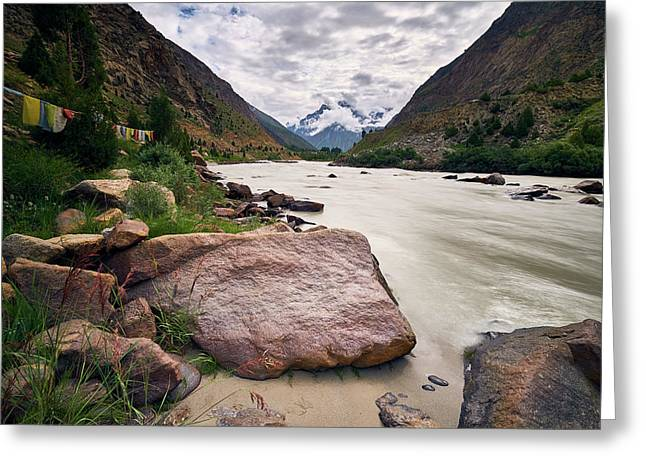Bhag River Greeting Card
