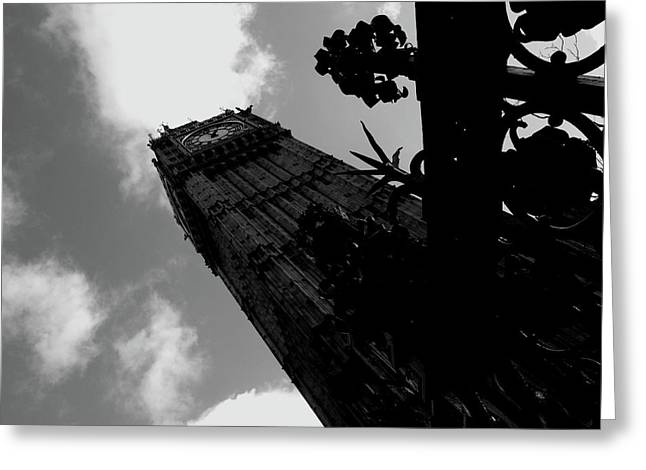 Greeting Card featuring the photograph Big Ben by Edward Lee