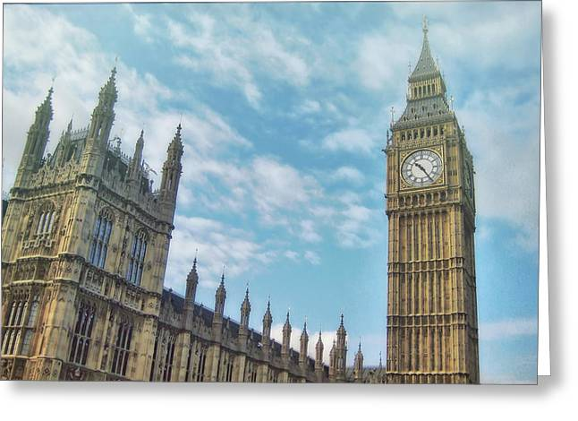 Greeting Card featuring the photograph Big Ben by JAMART Photography
