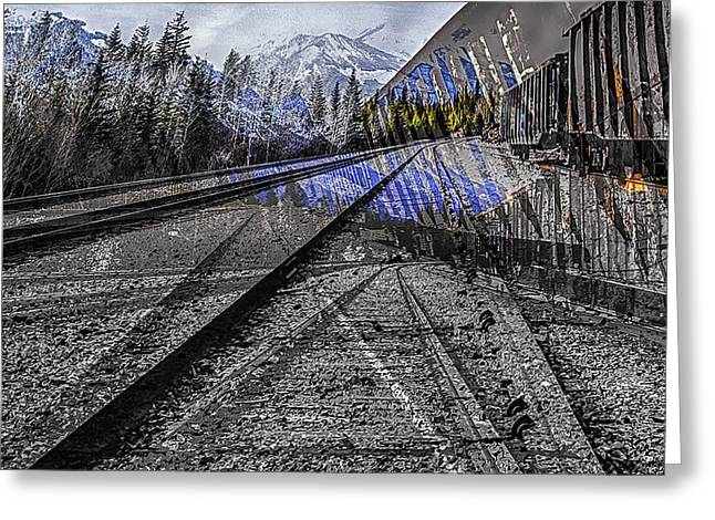 Big Steel Rail Greeting Card
