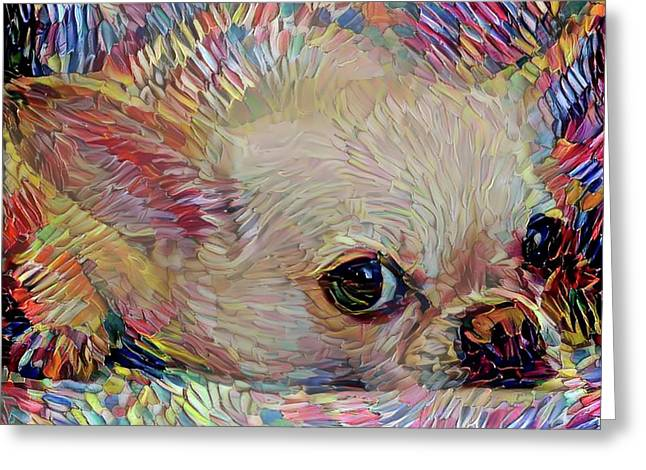 Bitsy The Chihuahua Greeting Card