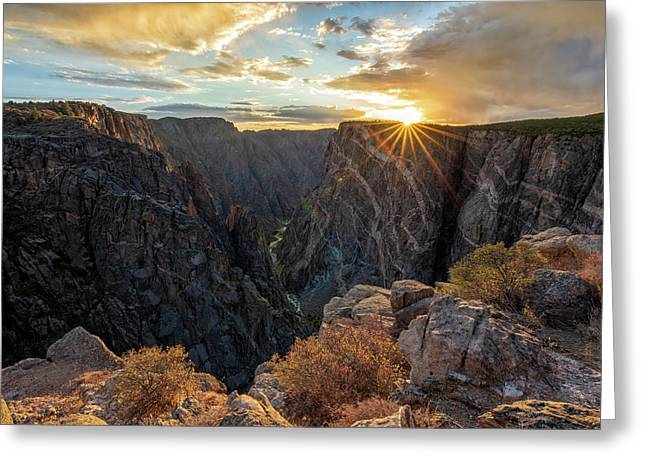 Black Canyon Sendoff Greeting Card