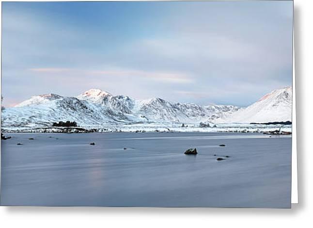 Greeting Card featuring the photograph Blackmount Sunrise - Glencoe by Grant Glendinning