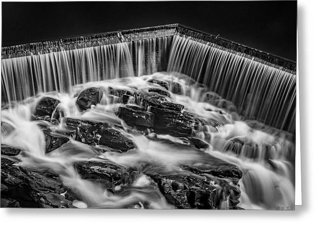 Blackstone River Xviii Bw Greeting Card by David Gordon
