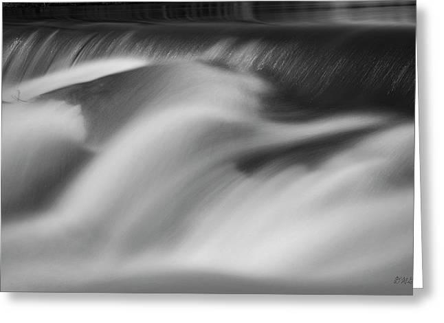 Blackstone River Xxxii Bw Greeting Card by David Gordon
