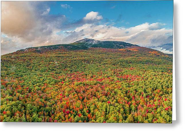 Blanketed In Color Greeting Card