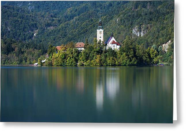 Bled Island Greeting Card