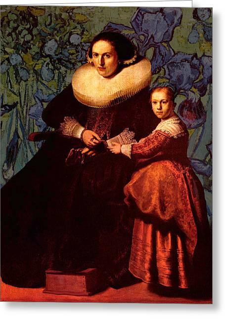 Blend II Rembrandt Greeting Card