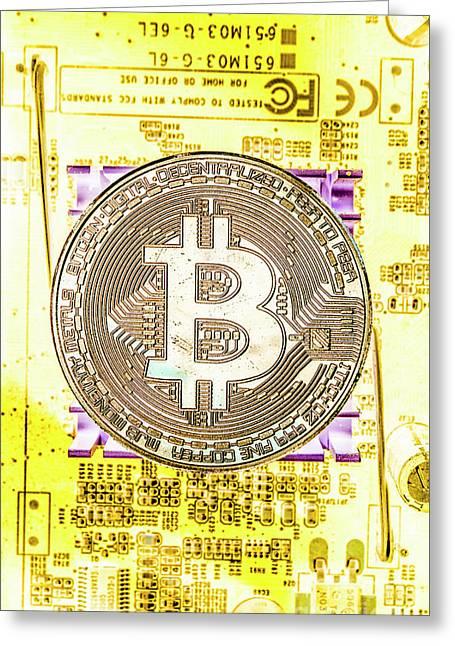 Blockchain Processing Greeting Card