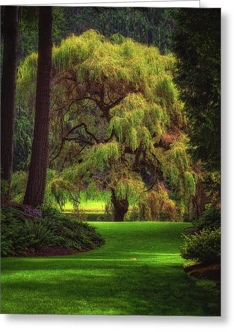 Bloedel Reserve Greeting Card