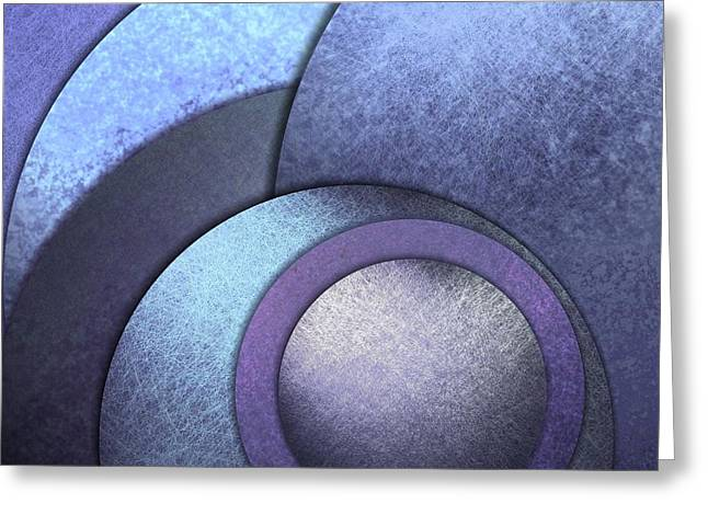 Blue Background Or Abstract Background Greeting Card