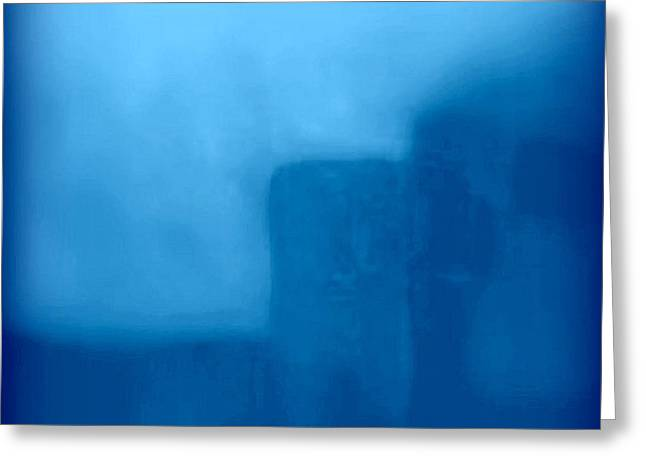 Blue Day - The Sound Of Silence  Greeting Card