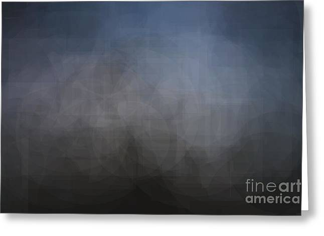 Blue Gray Abstract Background With Blurred Geometric Shapes. Greeting Card
