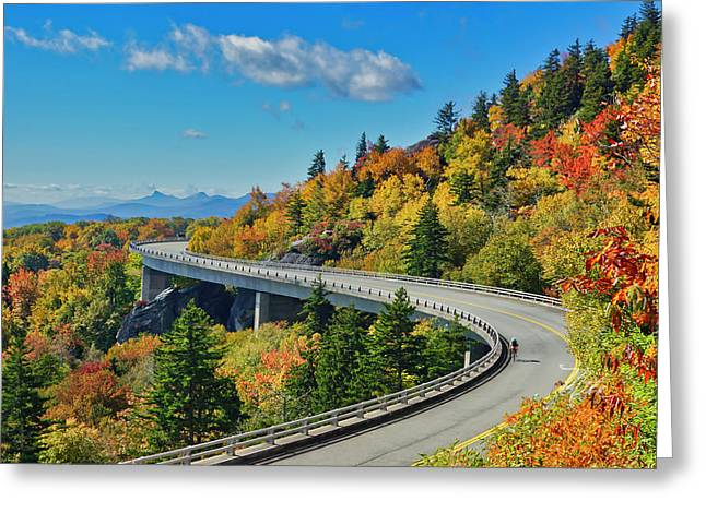 Blue Ridge Parkway Viaduct Greeting Card