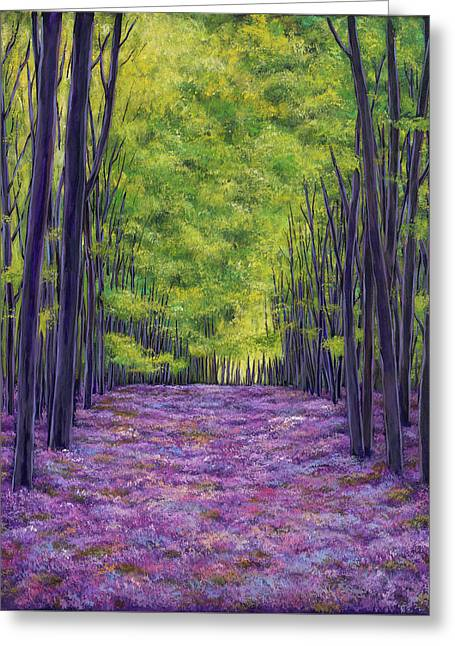 Bluebells And Daydreams Greeting Card