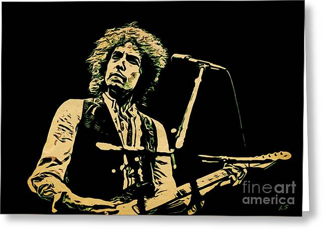 Bob Dylan Collection - 1 Greeting Card