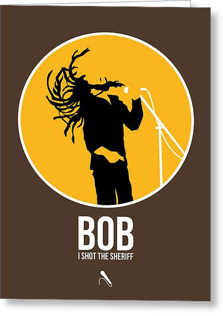 Bob Poster Greeting Card