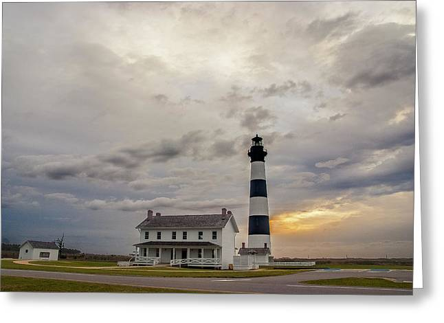 Bodie Island Lighthouse No. 2 Greeting Card