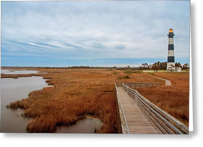 Bodie Island Lighthouse No. 3 Greeting Card