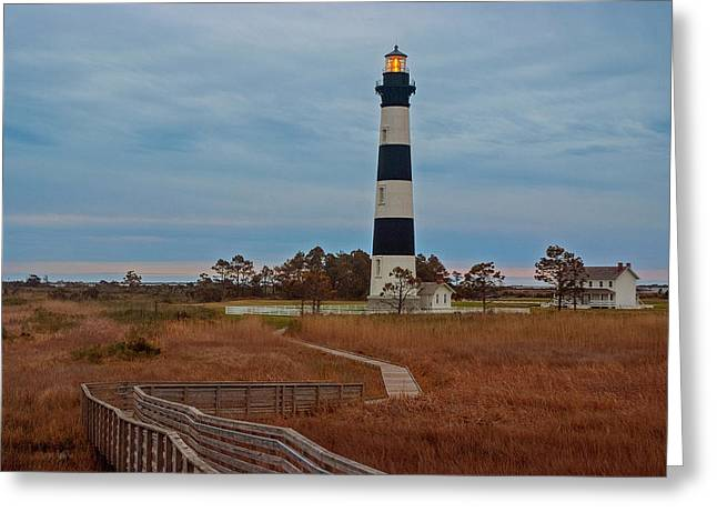 Bodie Island Lighthouse No. 4 Greeting Card