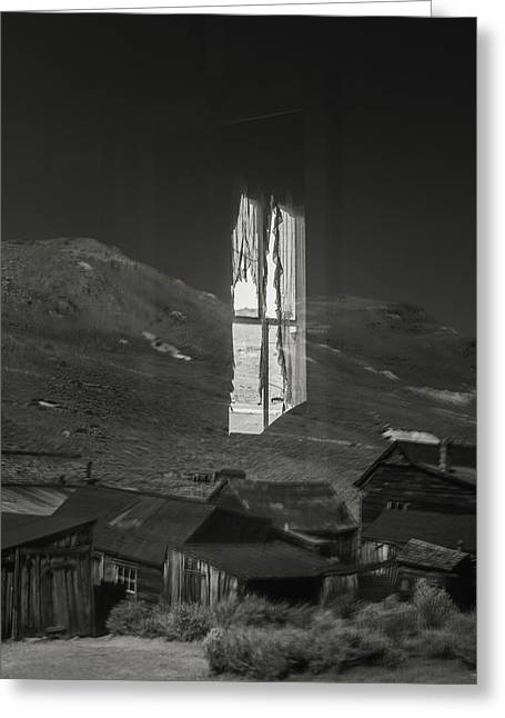 Bodie Reflections Greeting Card by Joseph Smith