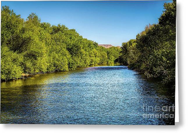 Greeting Card featuring the photograph Boise River by Jon Burch Photography