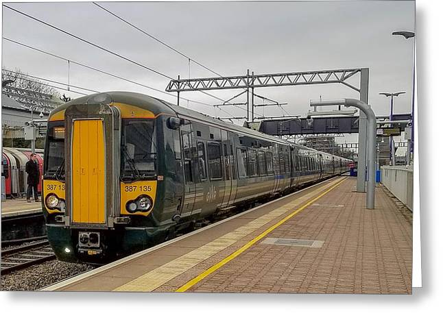 Bombardier Class 387 Electrostar Commuter Train Greeting Card