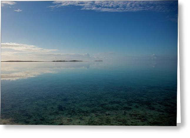 Bonefish Flats, Great Exuma Greeting Card