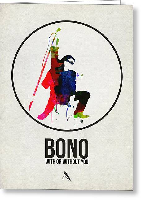 Bono II Greeting Card
