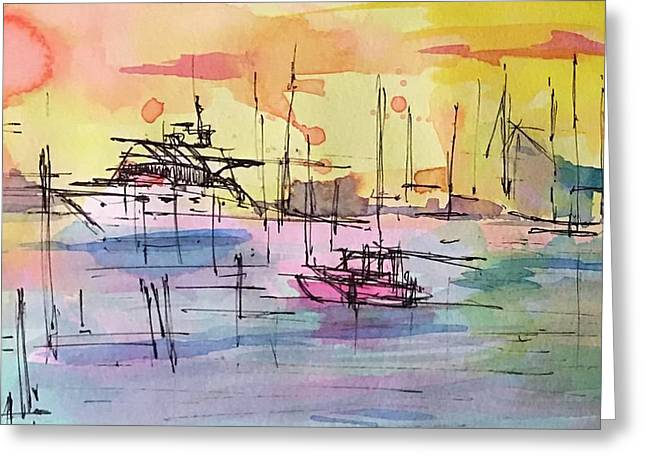 Boothbay 2  Greeting Card