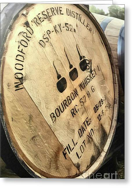 Bourbon Barrel Greeting Card