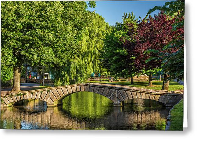 Bourton-on-the-water, Gloucestershire Greeting Card by David Ross