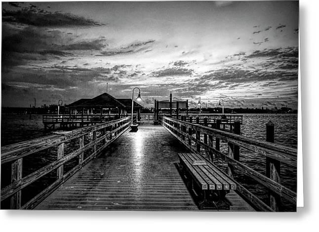 Bradenton Beach City Pier Greeting Card