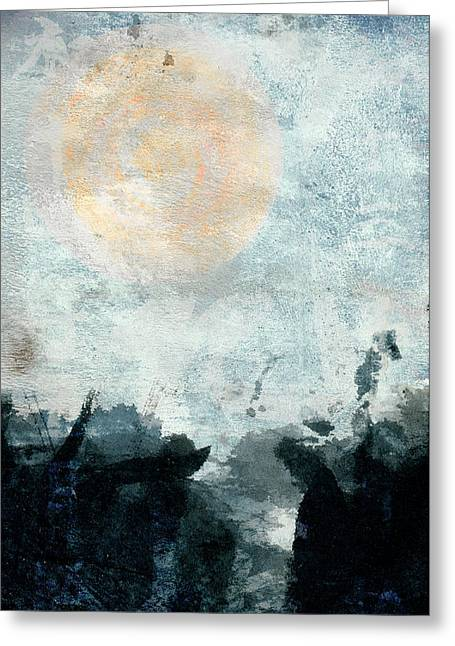 Breakwater Abstract Greeting Card