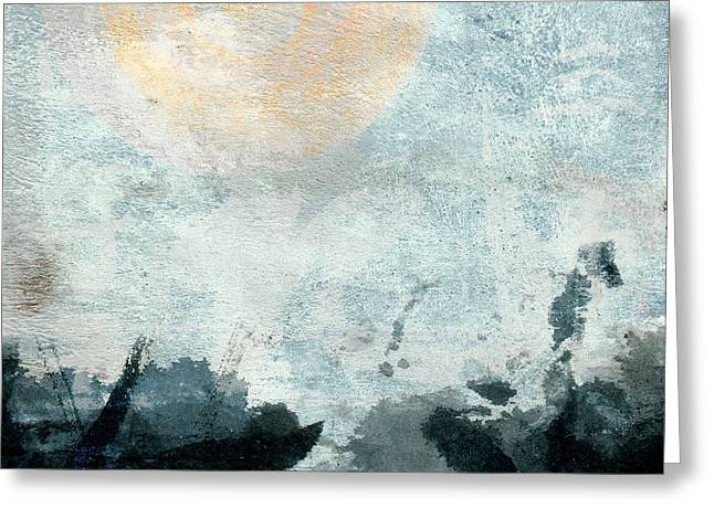 Breakwater Abstract Square Version Greeting Card