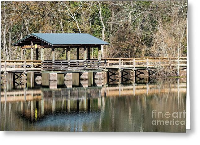 Brick Pond Park - North Augusta Sc Greeting Card