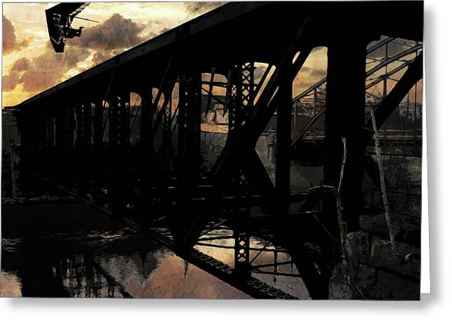 Bridge I Greeting Card