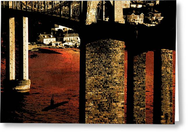 Bridge II Greeting Card
