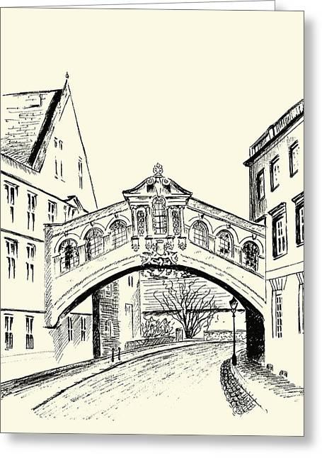 Bridge Of Sighs Greeting Card