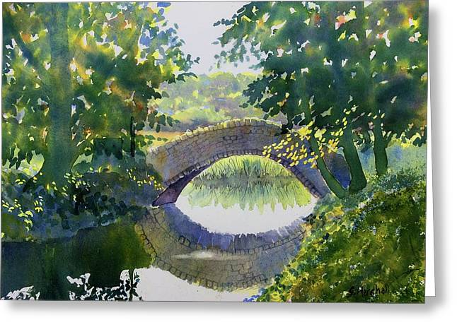 Bridge Over Gypsy Race Greeting Card