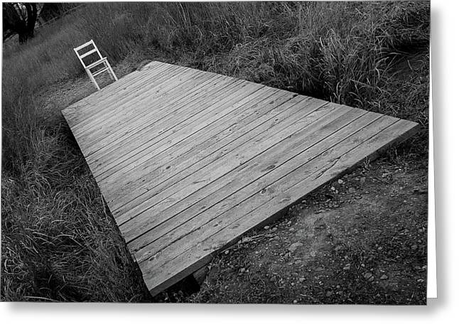 Bridge / The Chair Project Greeting Card