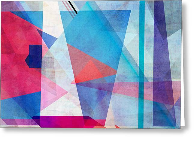 Bright Colorful Abstract Background Of Greeting Card