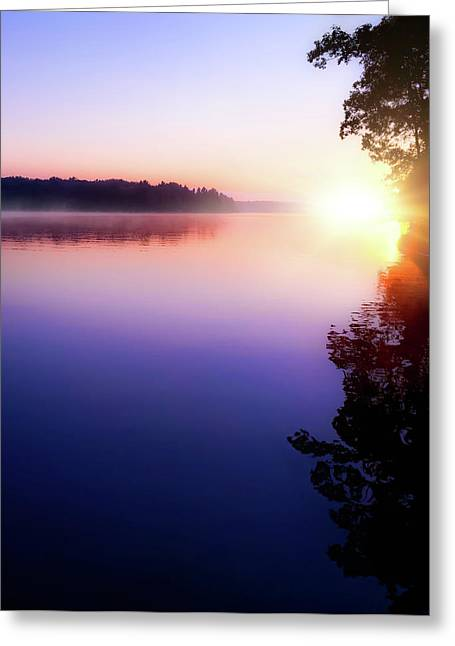 Bright Morning Sun Greeting Card
