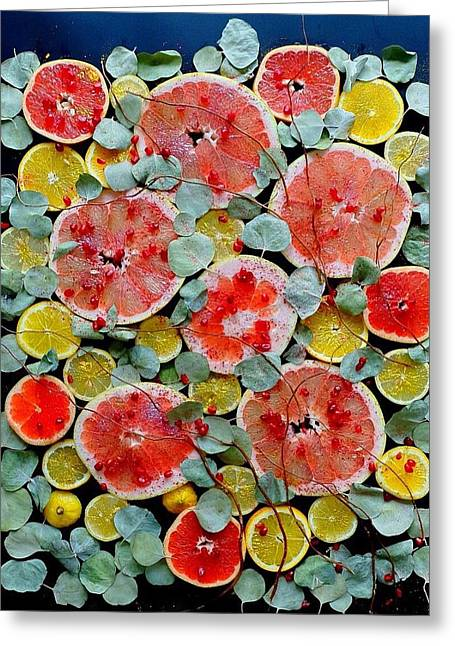 Brighter Days Citrus Greeting Card
