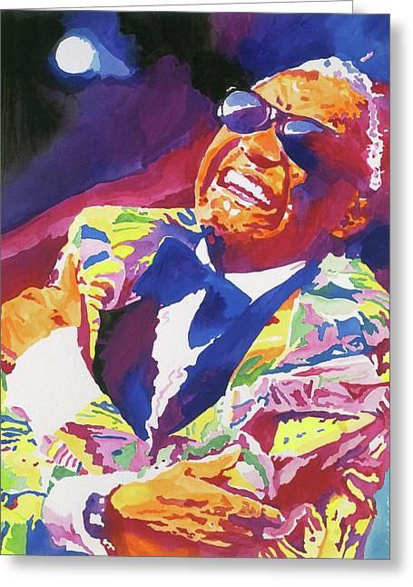 Brother Ray Charles Greeting Card