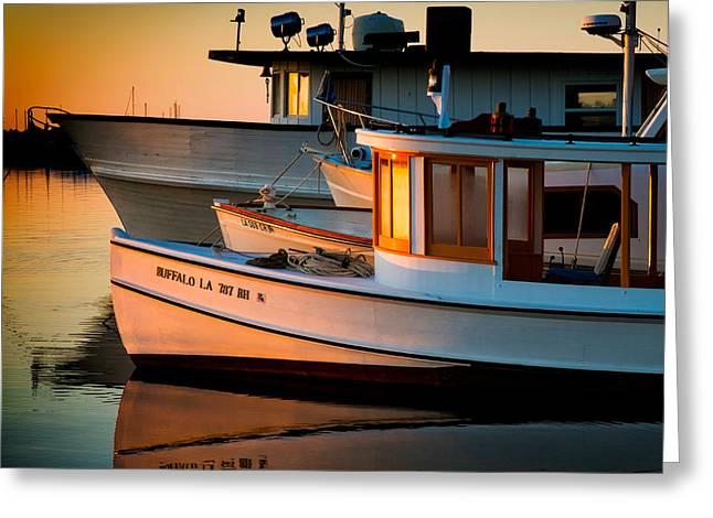 Buffalo Boat Greeting Card
