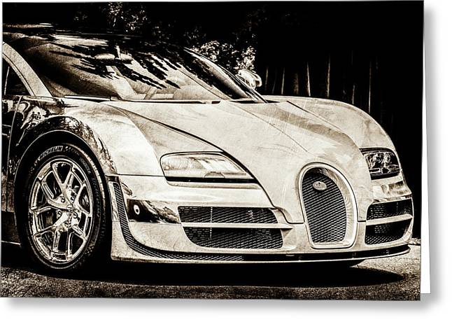 Bugatti Legend - Veyron Special Edition -0844scl2 Greeting Card