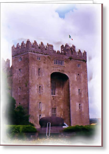 Bunratty Castle Painting Greeting Card