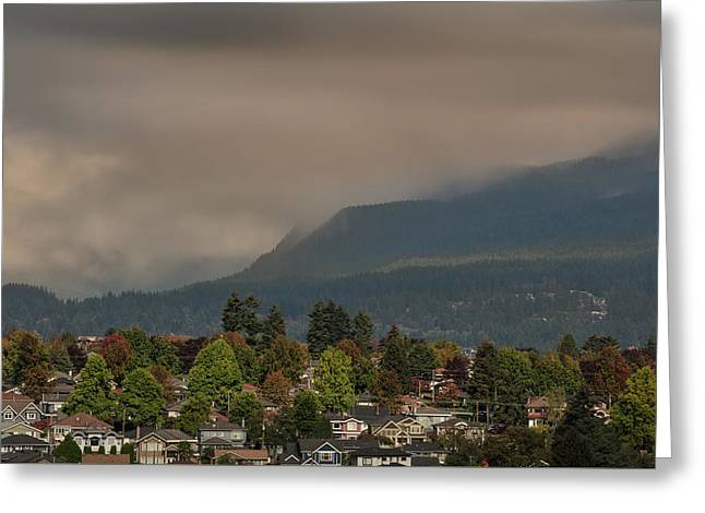 Burnaby Mountain Greeting Card