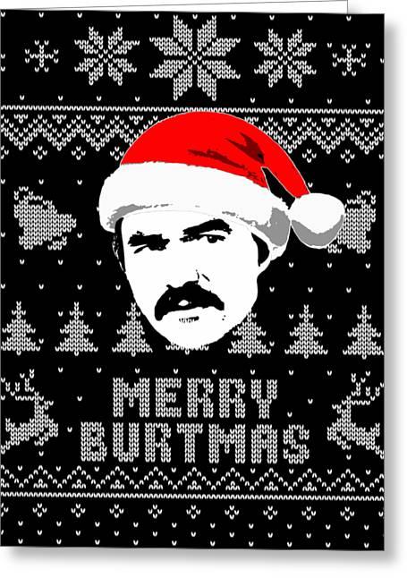 Burt Reynolds Christmas Shirt Greeting Card